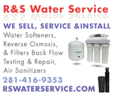 Reverse Osmosis Drinking Water Systems in Bellaire, Texas