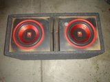 "Subwoofer with 2 12"" Speakers For Sale in Lake Elsinore, California"