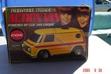 Vintage Cox .049 Programmed Steering Action Van in Orland Park, Illinois