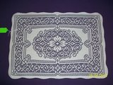 BN white lace placemats w/ single flower in Goldsboro, North Carolina