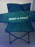Folding Green game chair in Yucca Valley, California