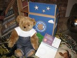 Collectors, 2006 Vermont Teddy bear, new in box in Fort Lewis, Washington