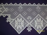 *BN white Quilt pattern mantle scarves in Goldsboro, North Carolina