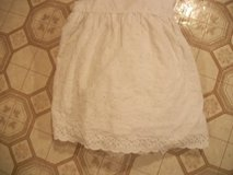#5000 TWIN SIZE WHITE EYELET BED SKIRT DUST RUFFLE in Fort Hood, Texas