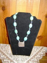 Turquoise Sterling Silver Necklace in Ruidoso, New Mexico
