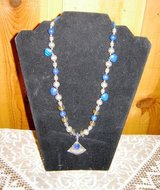 Lapis Lazuli Necklace with Bali Silver in Alamogordo, New Mexico