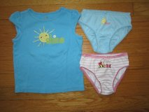 gymboree shirt+2slips-size 4t in Wilmington, North Carolina