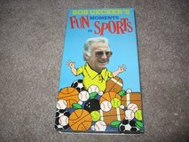 Bob Uecker's Fun Moments in Sports VHS in Fort Benning, Georgia